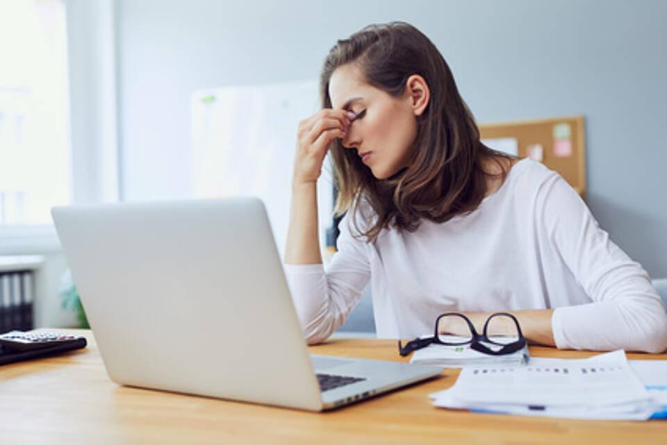 Migräne, Kopfschmerzen, Kopfweh, Spannungskopfschmerz, Stresspg