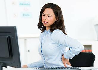 80 Prozent der Menschen leiden irgendwann an Rückschmerzen