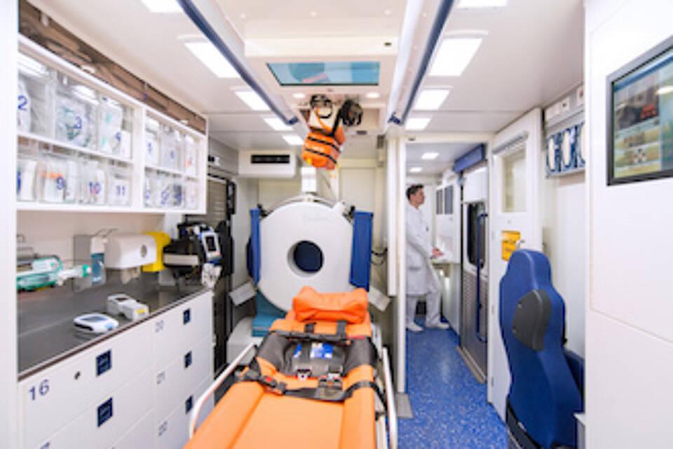 Rettungsfahrzeug für Schlaganfallpatienten