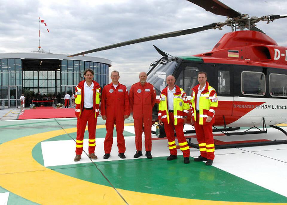 Rettung per Helikopter