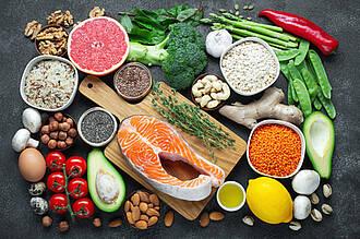 Welche Lebensmittel machen die Mittelmeerdiät aus?