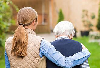 Pflegende Angehörige, Unterstützung, Unternehmen, ZQP