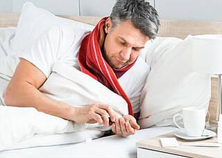 Aktuelle Grippewelle: Die Grippeimpfung schützt doch