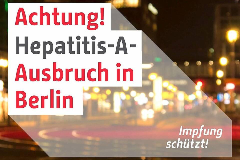 Hepatitis A, Berlin