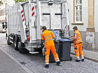 BGM bei der Müllabfuhr