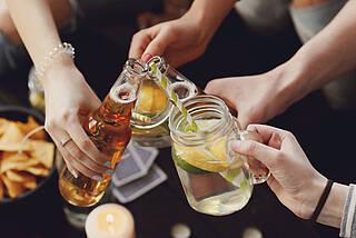 Alkoholkonsum bei Teenagern