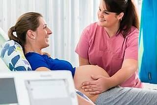 Endometriose, Schwangerschaft, Geburt