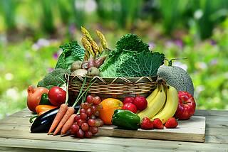 Basische Lebensmittel - Obst und Gemüse