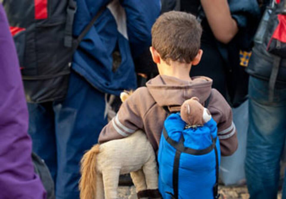 Psychisch verletzt: Jedes fünfte Flüchtlingskind leidet an einer posttraumatischen Belastungsstörung