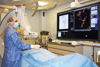 Onkologische Radiologie bietet neue Verfahren zur Krebsbehandlung