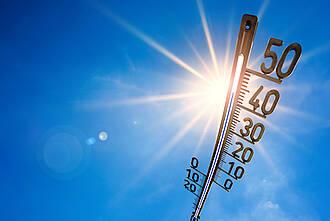 hitze, heiß, hohe temperaturen, thermometer