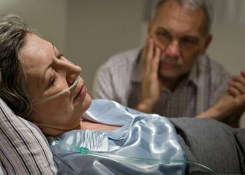 Die aktive Sterbehilfe ist in Deutschland bislang nicht eindeutig geregelt