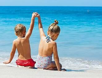 Sonnenschutz, Kinder, Babys, Sonnencreme, Hautkrebs