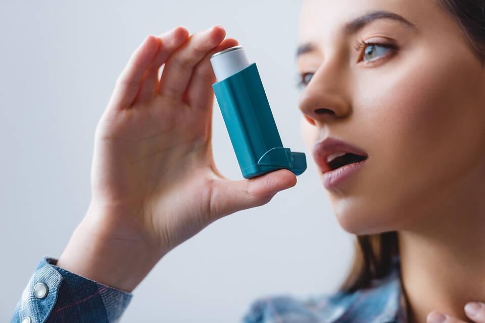 Inhalator, Asthma-Inhalator, Asthma