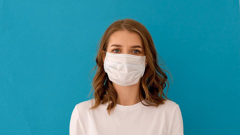 Mund-Nasen-Schutz, Atemschutzmaske, Schutzmaske, chirurgische Maske