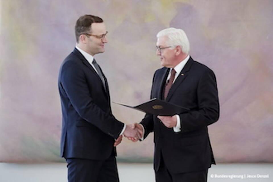Jens Spahn zum Bundesgesundheitsminister ernannt