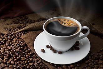 kaffee, tasse kaffee, koffein, kaffeebohnen