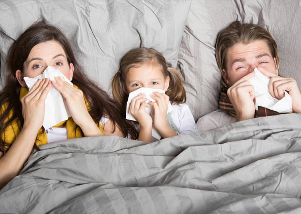 Grippewelle hat Deutschland fest im Griff