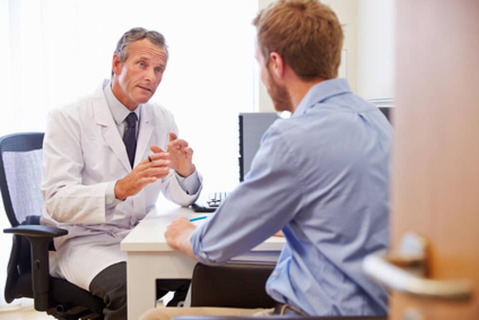 Gespräch mit einem Spezialisten