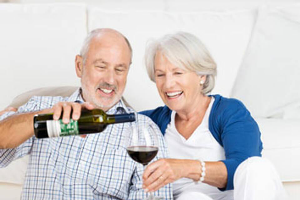 Alkohol kann das Herz älterer Menschen schädigen