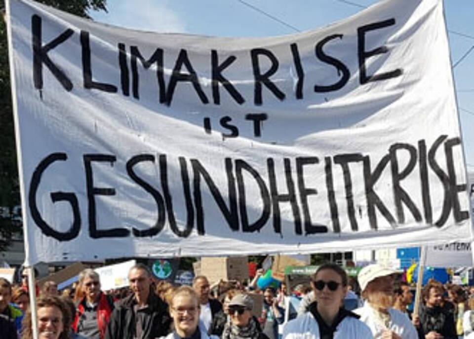 Von Fridays for Future angesteckt: Ärzte und Gesundheitsberufe streiken für mehr Klimaschutz