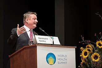 Bundesgesundheitsminister Hermann Gröhe wird den World Health Summit 2016 eröffnen
