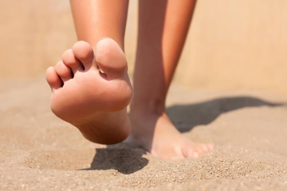 Barfuß laufen ist gefährlich für Menschen mit diabetischem Fuß