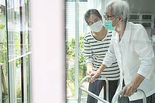 Altenpflege, Pflegeheim, Pflegerin