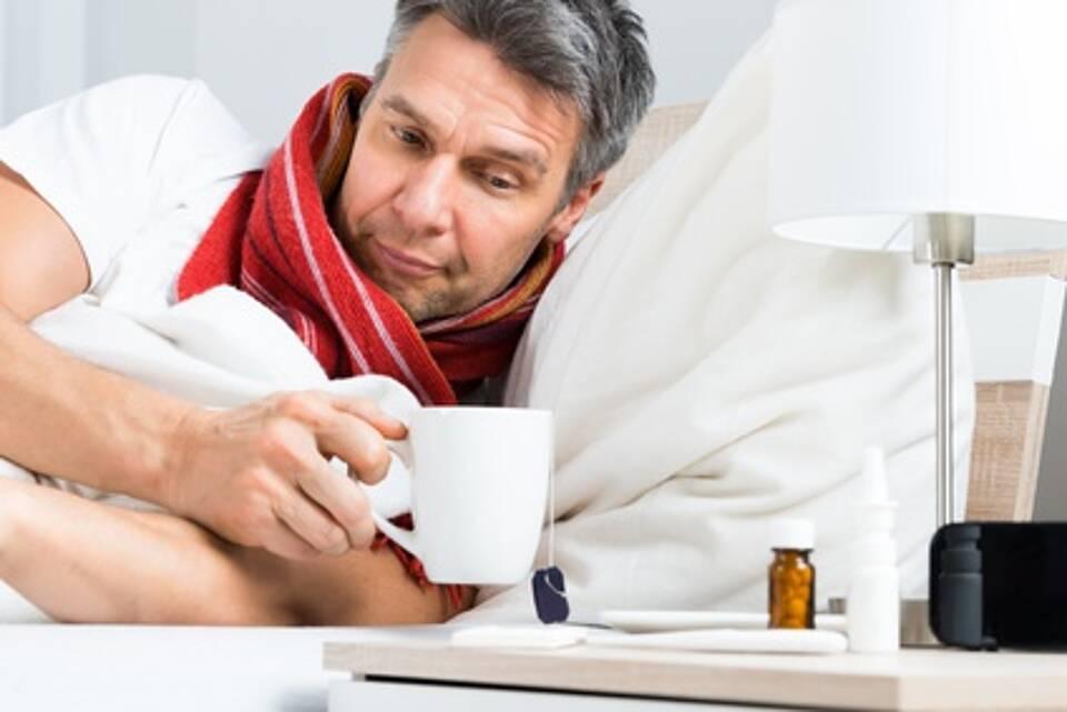 Atemwegs-Erkrankungen können von Viren oder Bakterien ausgelöst werden