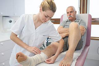 Chronische Wunden und Dekubitus, Vakuumtherapie