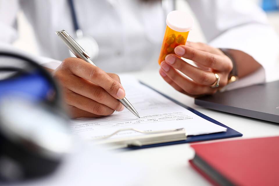 Medikamenten, Arzneimittel, Medikationsliste, Medikation