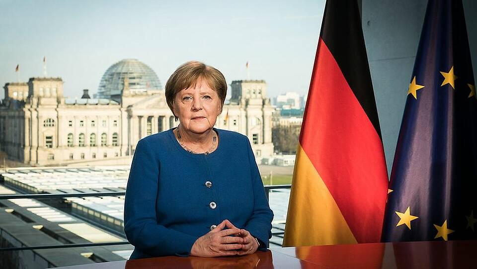 Merkel spricht zur Nation: Die Coronavirus-Epidemie ist nur gemeinsam zu bewältigen. Der Erfolg hängt jetzt vom verhalten jedes Einzelnen ab