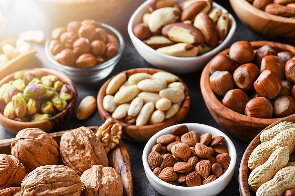 Gefahr durch Schimmelpilzgifte: Nüsse nicht verzehren, wenn sie komisch schmecken