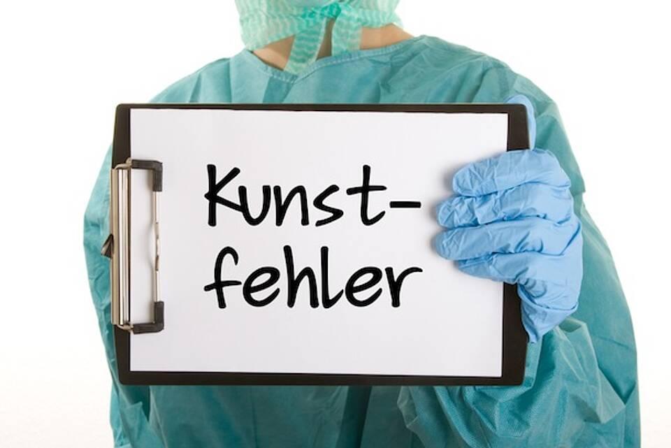 Mehr als 2200 Kunstfehler-Vorwürfe bewerteten Ärztekammer-Einrichtungen als berechtigt.