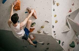 Bouldern macht nicht nur Spaß, sondern lindert auch Depressionen