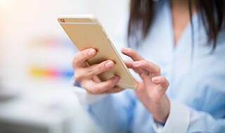 smartphone, gesundheits-app, app, online-test