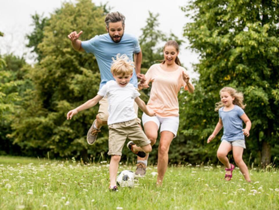 Bewegung in der Familie, AOK-Familienstudie