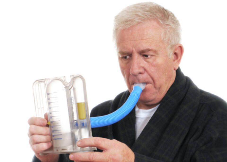 Mehr Lungenerkrankungen im Alter