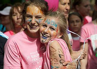 Laufen gegen Brustkrebs AVON RUNNING