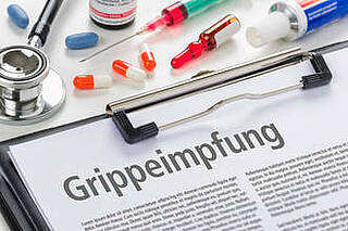 Grippeschutz-Impfung