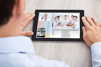 Ab ins Internet - das will das e-Health-Gesetz erreichen.