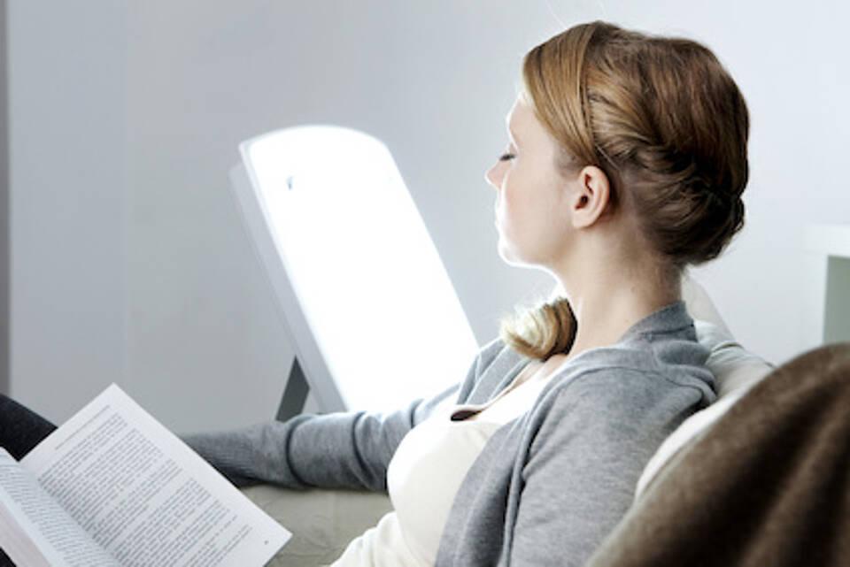 lichtherapie, tageslichtlampe