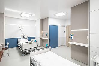 Patientenzimmer der Zukunft