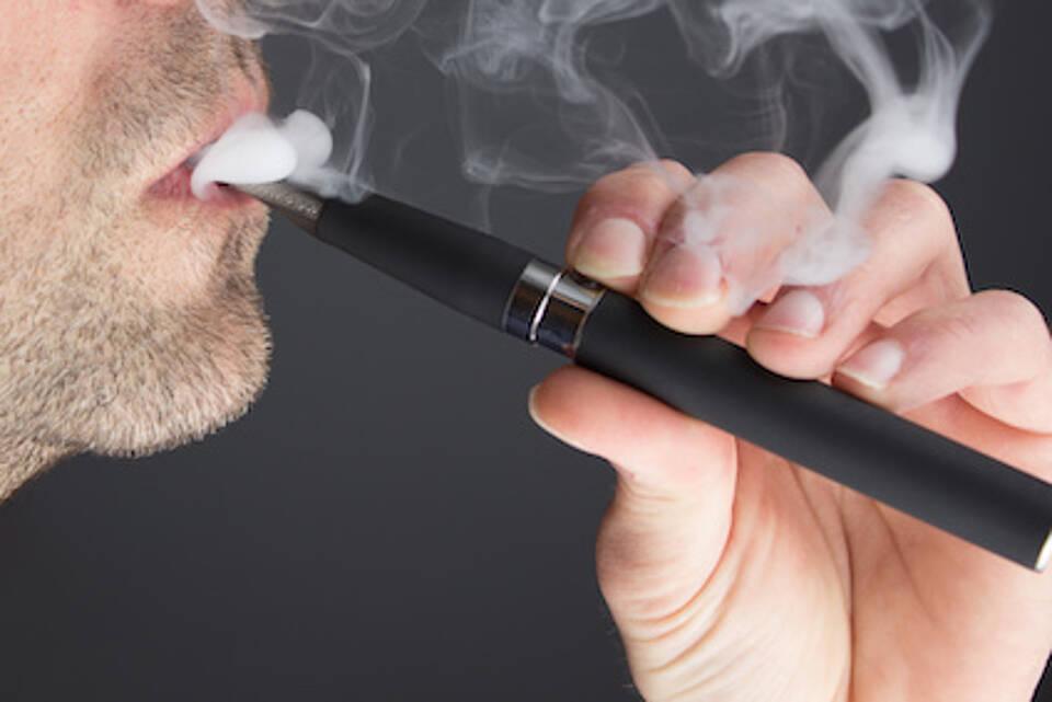 e-zigaretten, verdampfen, liquids