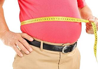 Männer ignorieren oft Übergewicht