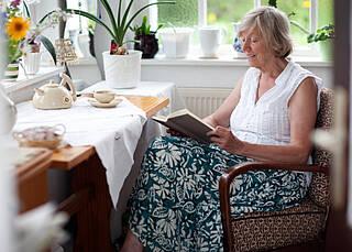 Ältere Menschen wollen zu Hause wohnen