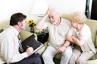 Eine neue Studie legt nahe, dass psychische Erkrankungen im Alter häufig unentdeckt bleiben