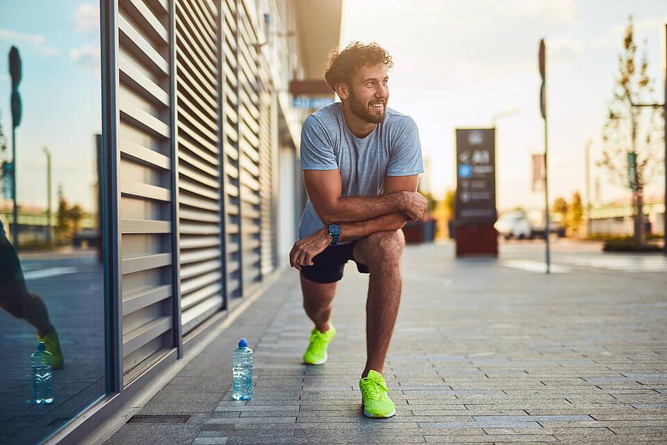 Bei hoher Luftverschmutzung kann Outdoor-Sport ungesund sein