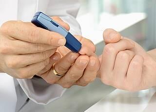 Zertifikat für Diabetes-Behandlung