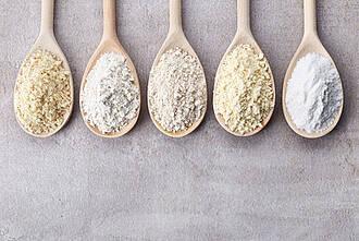 Glutenfrei, Getreide, Mehl, Zöliakie, Weizen
